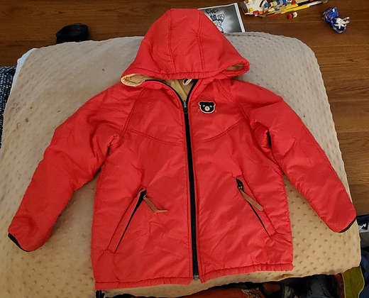 Double B Reversible Red Jacket
