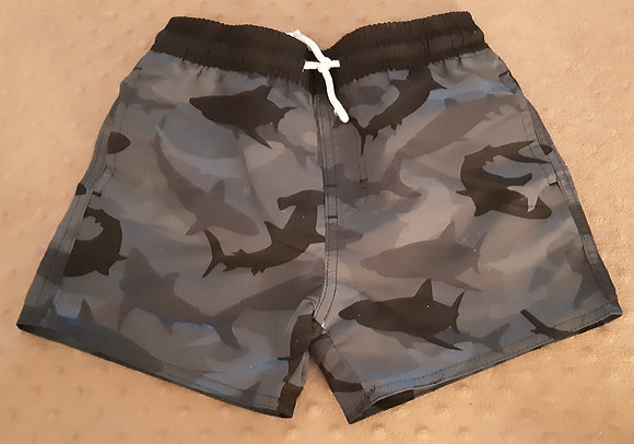 Bond-Eye Shark Swim Shorts