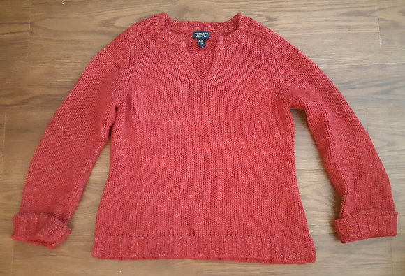 American Eagle Red Knit (Size XL)