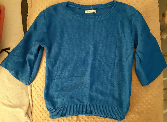 Old Navy Blue Knitted  (Size M)