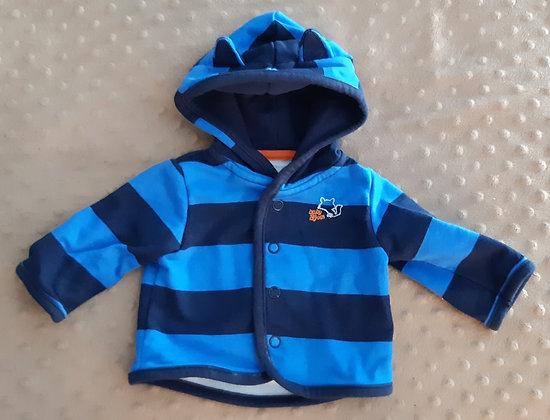 OshKosh Striped Blue Hoodie