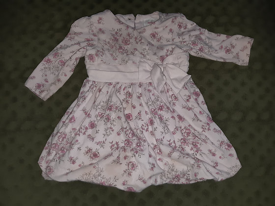 Early Days Flower Pink Dress