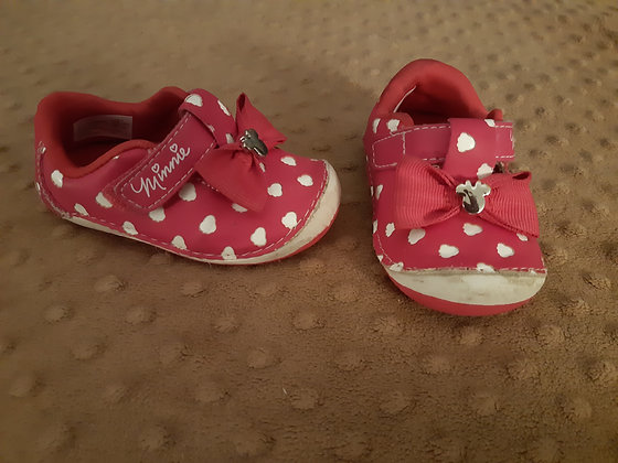 Minnie Mouse Pink Hearts