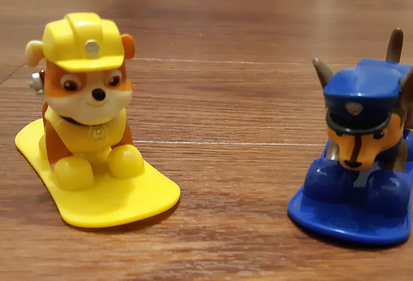 Paw Patrol - Rubble & Chase Snowboard