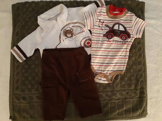 Bear Track Suit Set