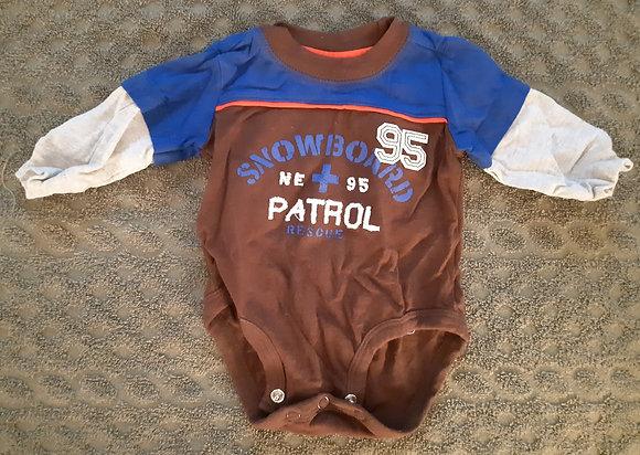Carter's Snowboard Patrol Brown