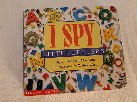 I Spy - Little Letters