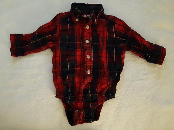 OshKosh Plaid Dress Shirt