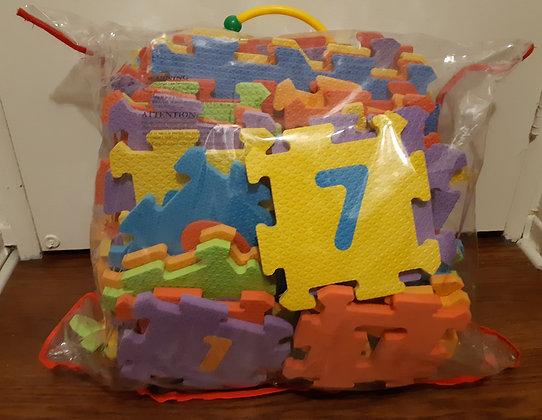 Letter & Number Foam Puzzle Mats