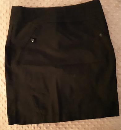 Reitmans Black Skirt (Size 12P)