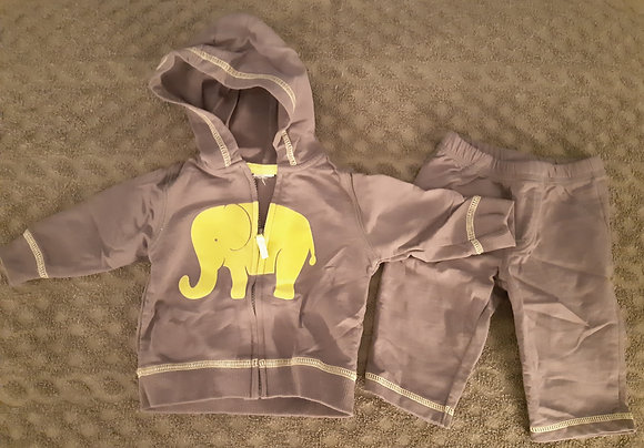Carter's Elephant Grey