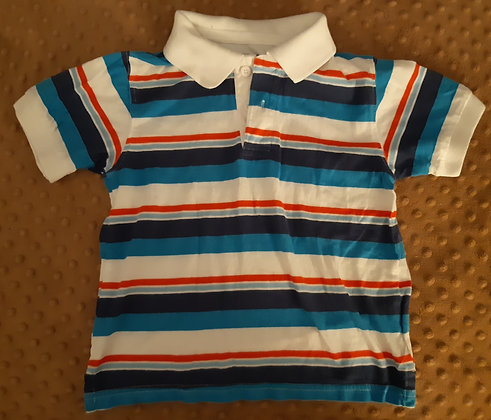 Children's Place Blue & Red Striped