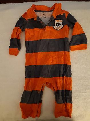 Carter's Orange Striped