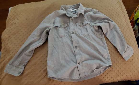 Old Navy Grey Dress Shirt