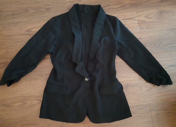 Spacegirly Black Blazer (Size M)
