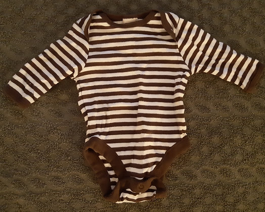 Old Navy Brown Striped