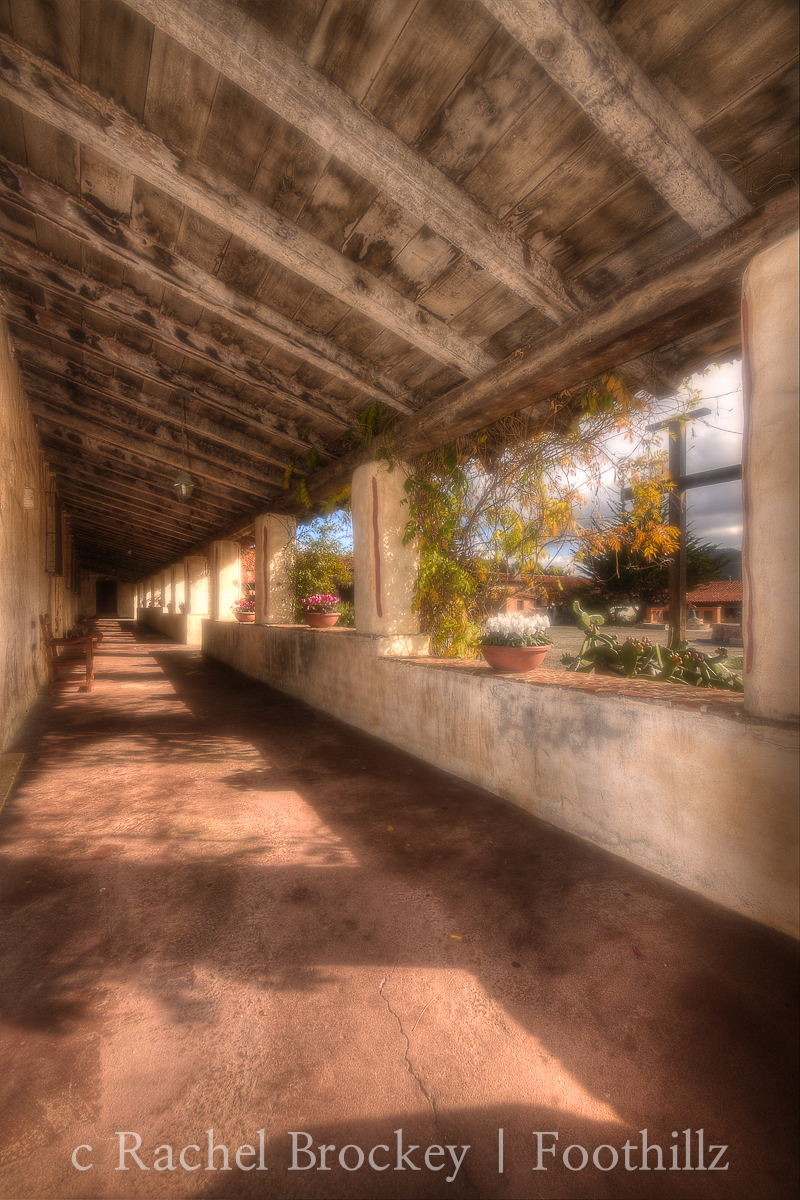 Vertical Hallway One Carmel Mission.jpg