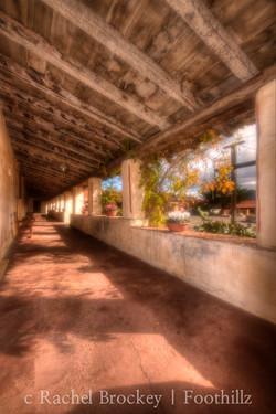 Vertical Hallway One Carmel Mission.jpg