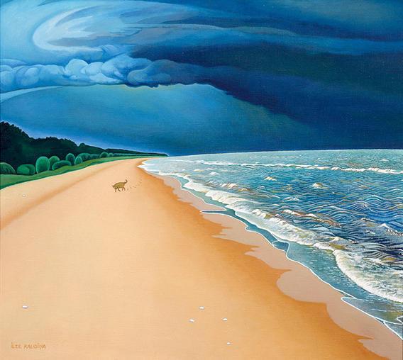 Jūra un suns. Sea And Dog.