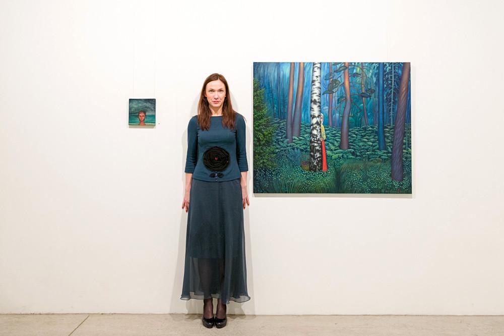 """Iedaba"", galerija Māksla XO, Rīga, Latvija.  ""Nature"", Gallery Māksla XO, Riga, Latvia. 2014."