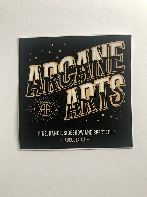 Arcane Arts Sticker