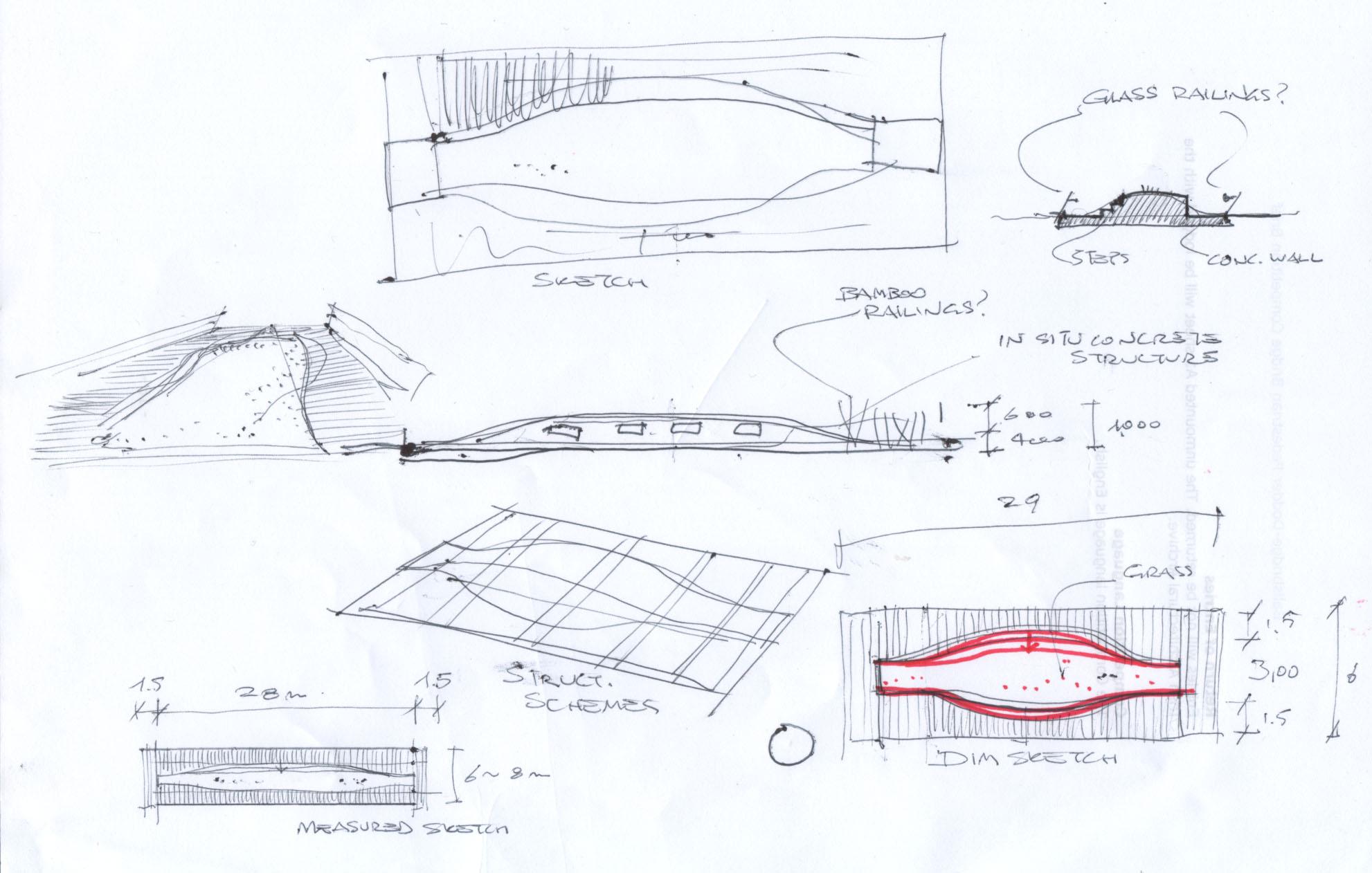 bridge sketch 24 june