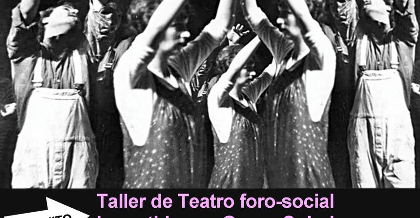 Cartel Teatro Foro UC