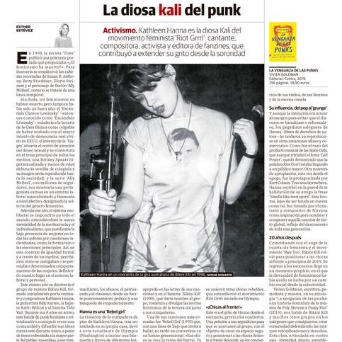 Kathleen Hanna, La diosa Kali del punk