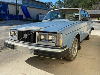 1982 Volvo 242 Coupe