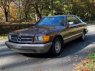 1983 MERCEDES 380SEC, W126C
