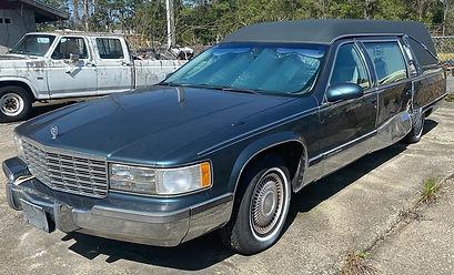 1996 Cadillac S&S Hearse
