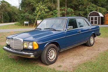 1985 MERCEDES BENZ 300D TURBO