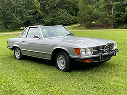 1973 Mercedes-Benz 450SL, W107