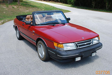 1987 Saab 900 Turbo, Convertible