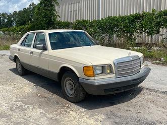 1981 Mercedes-Benz 300SD, W126