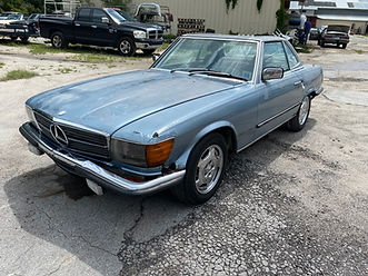 1980 Mercedes-Benz W107, 450SL