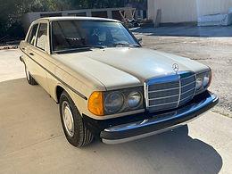 1980 Mercedes-Benz 240D, W123
