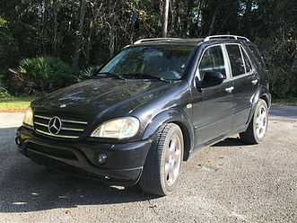 2001 MERCEDES BENZ ML55 AMG