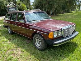 1982 Mercedes-Benz 300TDT, W123 touring