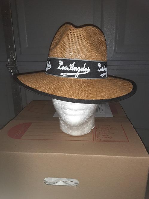 Vato Loco hat in tan