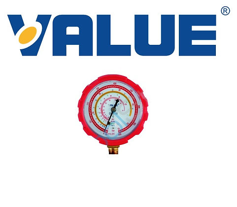 Value Ø68 Yüksek Basınç Manifold Saati (R410/407/22/134)