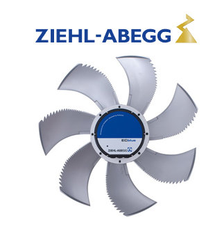 Ziehl-Abegg FN080-ZIQ.GL.V7P3 Fan Motoru
