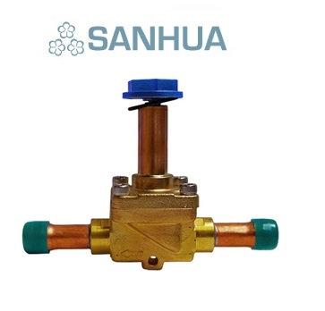 "Sanhua MDF-08045 Solenoid Vana 5/8"" Rekorlu"