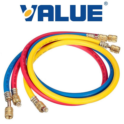 Value VRP-U-R/B/Y Gaz Hortumu 300cm (R22)