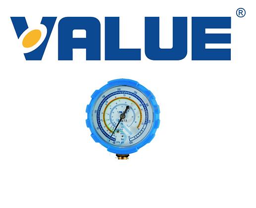 Value Ø68 Alçak Basınç Manifold Saati (R410/407/22/134)