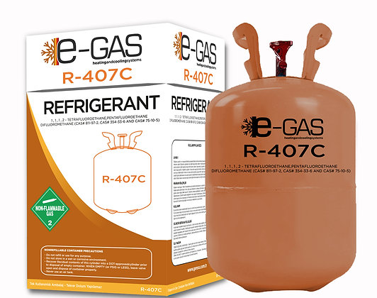 E-GAS R407C 11.3 KG SOĞUTUCU GAZ