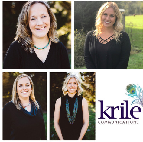 Julie Theado, Hannah Blair, Jill Buterbaugh, and Courtney Johson ~ Honored by Angela Krile
