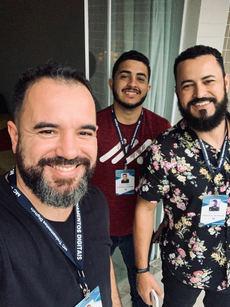 Mauricio, Henrique e Erick