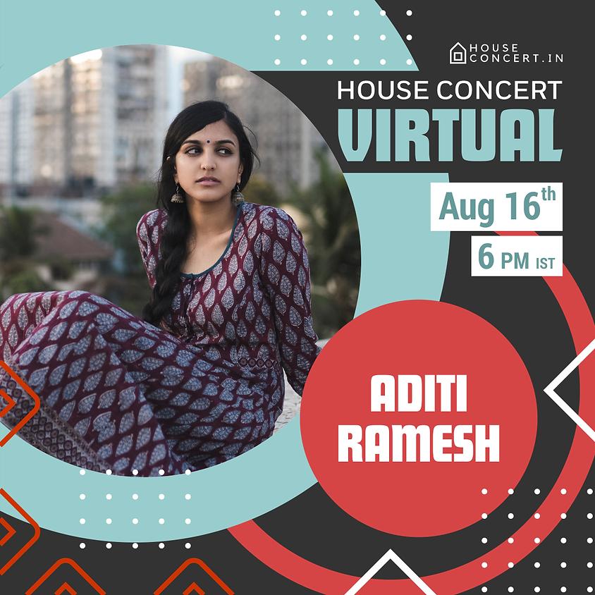 Aditi Ramesh Live From Bengaluru