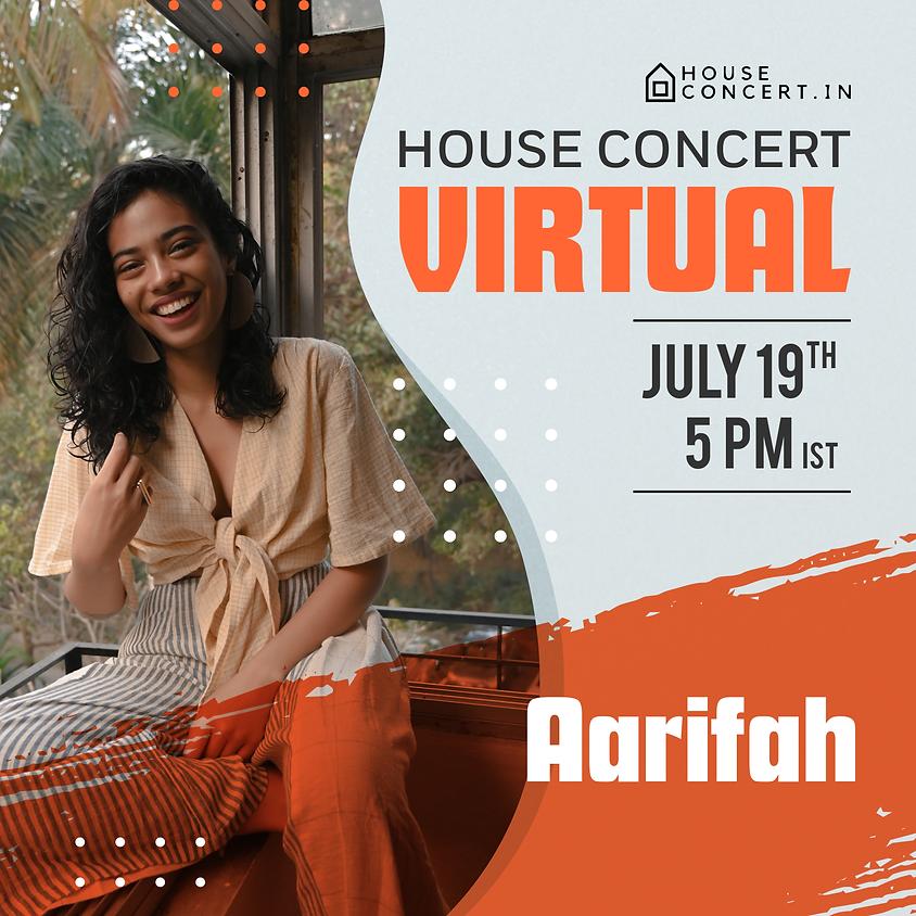Aarifah - Live from Pune